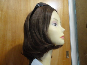 European Multidirectional Short Bob Brown #10/6 - wigs, Women's Wigs - kosher, Malky Wigs - Malky Wigs