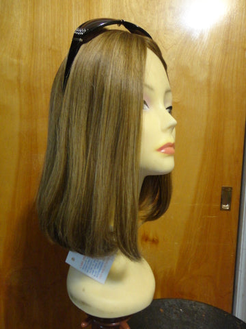 European Multidirectional Short Bob Light Blonde with Highlights #14/8 - wigs, Women's Wigs - kosher, Malky - Malky Wigs