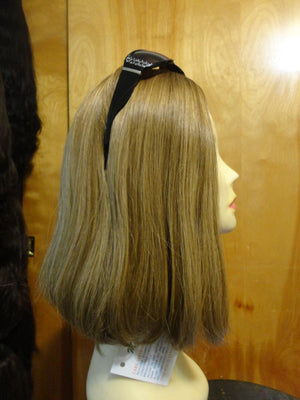 European Multidirectional Short Bob Light Blonde with Highlights #14/8 - wigs, Women's Wigs - kosher, Malky Wigs - Malky Wigs