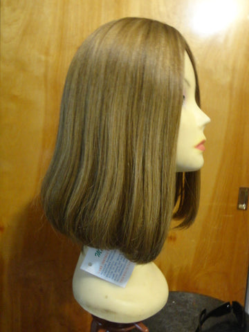 European Multidirectional Short Bob Dirty Blonde with Highlights #16/10 - wigs, Women's Wigs - kosher, Malky - Malky Wigs