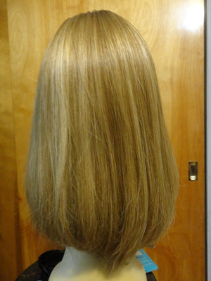 European Multidirectional Short Bob Dirty Blonde with Highlights #16/10 - wigs, Women's Wigs - kosher, Malky Wigs - Malky Wigs