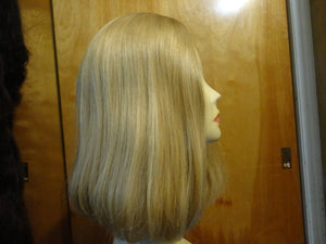 European Multidirectional Short Bob Lightest Blonde with Highlights #24/14/12 - wigs, Women's Wigs - kosher, Malky Wigs - Malky Wigs