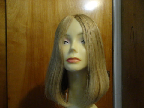 European Multidirectional Short Bob Lightest Blonde with Highlights #24/14/12 - wigs, Women's Wigs - kosher, Malky - Malky Wigs