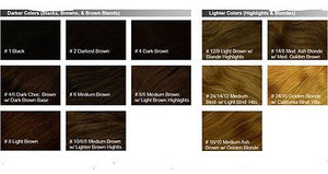 Remy Human Hair Darkest Brown with Highlights #4 Weft Cap - wigs, Women's Wigs - kosher, Malky Wigs - Malky Wigs