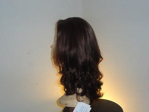 Remy Human Hair Darkest Brown with Highlights #6-2 - wigs, Women's Wigs - kosher, Malky Wigs - Malky Wigs