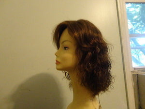 Remy Human Hair Wavy Brown #6-8 - wigs, Women's Wigs - kosher, Malky Wigs - Malky Wigs