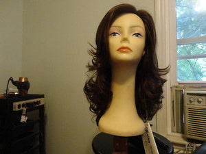 Remy Human Hair Dark Brown with Highlights #6/2 - wigs, Women's Wigs - kosher, Malky Wigs - Malky Wigs