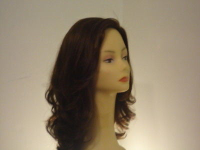 Remy Human Hair Darkest Brown with Highlights #6-2 - wigs, Women's Wigs - kosher, Malky - Malky Wigs