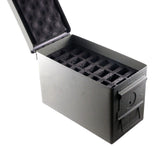 .50 Cal Ammo Can 24 Pistol Magazine Holder Foam - Insert for Steel 50 Caliber Ammunition Box (M2A1) - Replaces Gun Clip Pouch