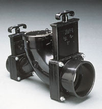 "Gate Valve - 3 & 1-1/2"" Rotating Double Ell Valve Assemblies"