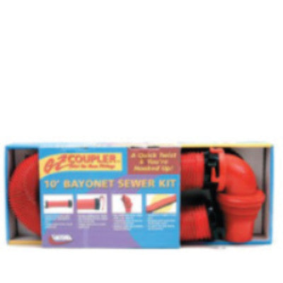 Deluxe Bayonet Sewer Hose Kit
