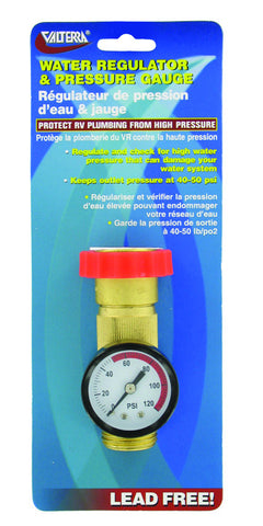 Water Regulator Gauge Combo