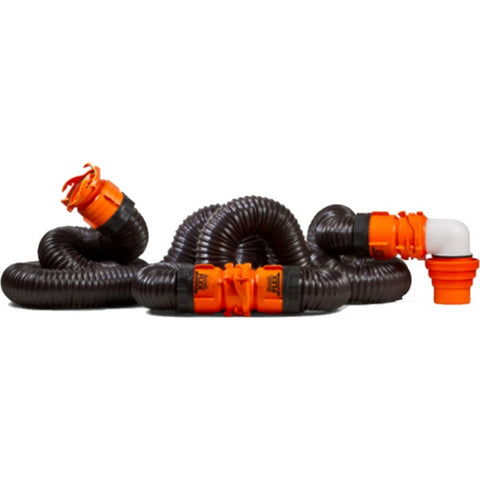 Rhino flex 20' Sewer Hose Kit