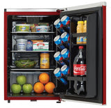 Danby 2.6 cu.ft. Ruby Red Tiny Fridge