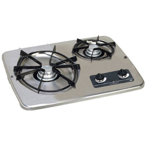 Atwood Stainless Steel 2 Burner Gas Cooktop