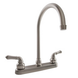 J-Spout Kitchen Faucet in Multiple Finishes