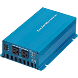 1500 Watt, 120/60Hz Pure Sine Wave Inverter, 12 VDC Input