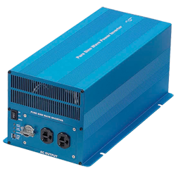 2000 Watt, 120/60Hz Pure Sine Wave Inverter, 12 VDC Input