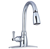 Non-Metallic Pull-Down Kitchen Faucet