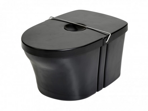 Composting Toilet Bin with Lid