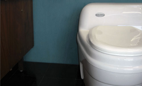 Ecojohn Waterless Composting Toilet 12v DC