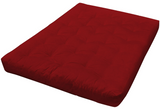 "Thick Queen 8"" Futon Mattress in Lots of Colors"