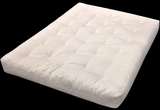 "King 76"" x 80"" Futon Mattress in Lots of Colors"