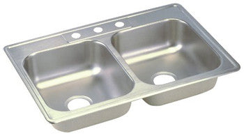 Deep Stainless Steel Double Sink
