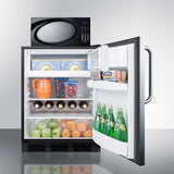 Summit Refrigerator-Microwave Combination