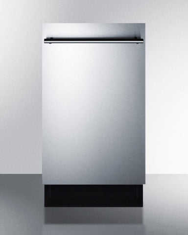 "Summit 18"" ENERGY STAR European Dishwasher for Tiny Kitchens"