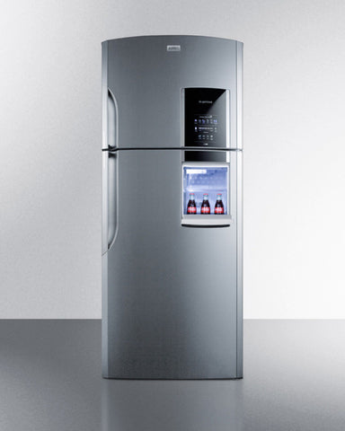 Summit Frost-Free, Full Size Refrigerator-Freezer for Tiny Kitchens