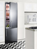 Summit Built-in European Bottom Freezer Frost-Free Refrigerator