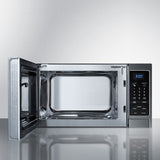 Summit Stainless Steel Microwave Oven with Digital Touch Controls
