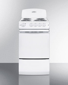"Summit 20"" Slim Electric Range"