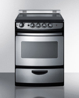 "Summit 24"" Smooth Top Electric Range"