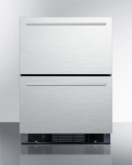 Top Drawer Refrigerator with Bottom Drawer Freezer