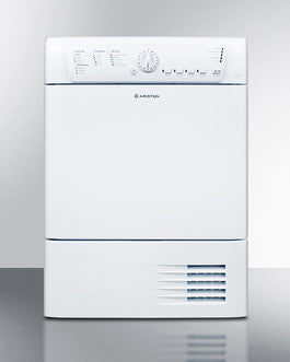 "Summit 24"" Wide 220V Condensing Dryer Built by Ariston in Europe"