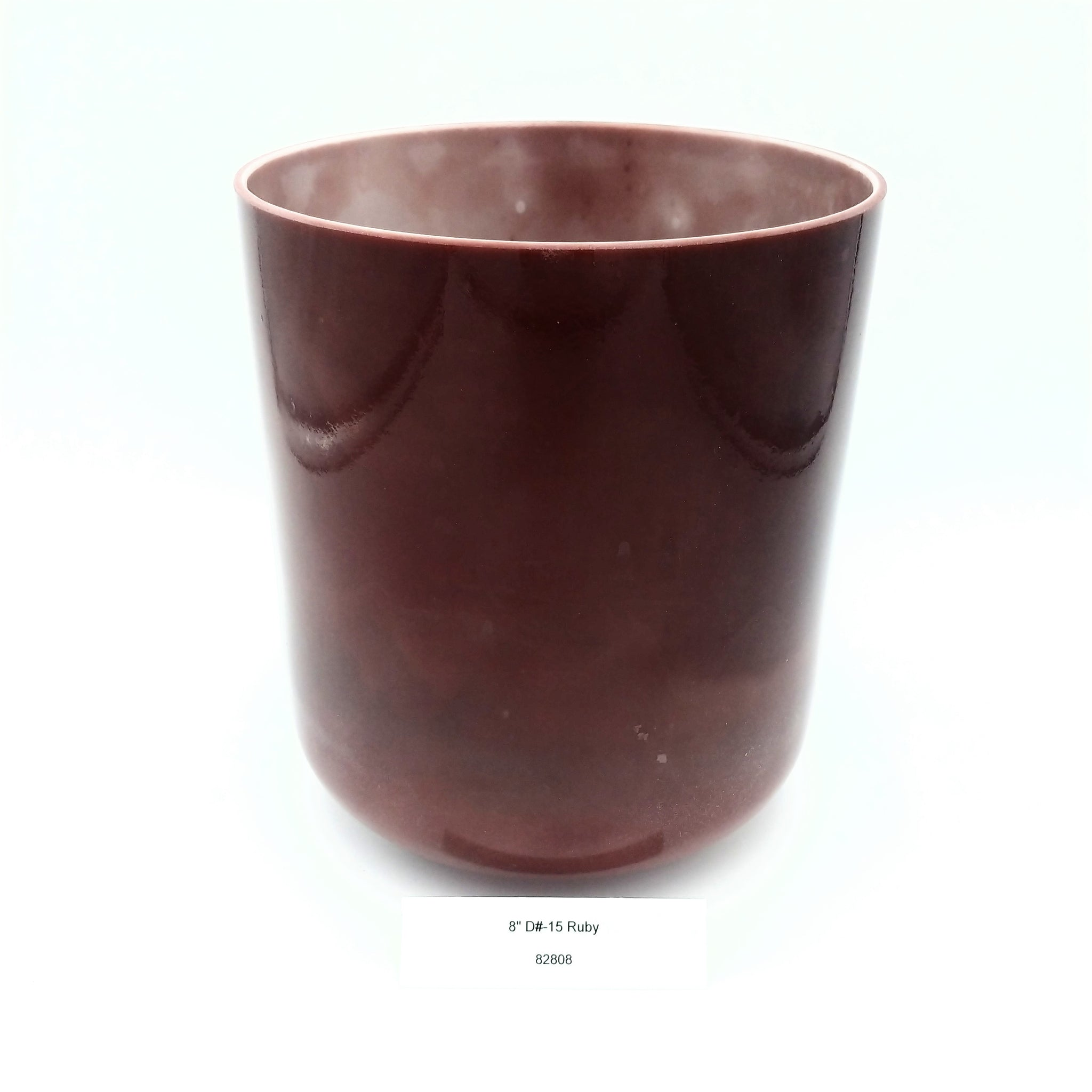 "8"" D# -15 Ruby Crystal Alchemy Bowl"