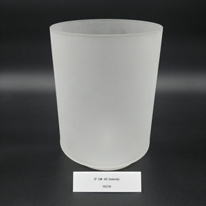 "6"" G# -45 Selenite Crystal Alchemy Bowl"