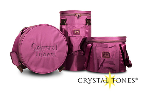 "6"" Purple Ballistic Case Crystal Tones"