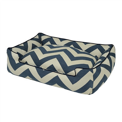 Chevron Bed - Navy