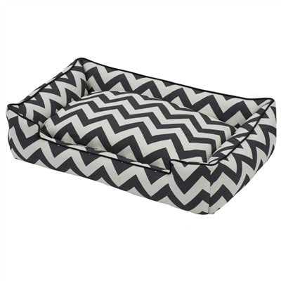 Chevron Bed - Black