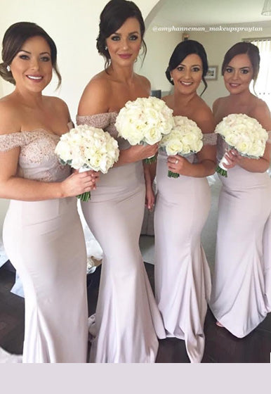 cf92696af8 Daniela s Bridemaids Custom Coloured Nude Sienna Gown without lace train.  Sydney
