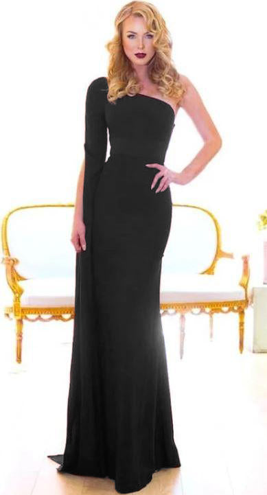 ELVIRA GOWN BLACK