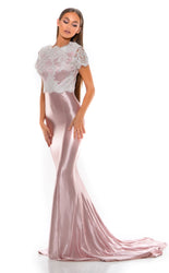 NATASHA GOWN BLUSH