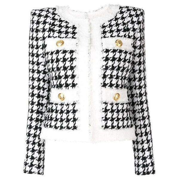 PARIS BLACK/WHITE JACKET