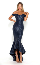 DIAMOND GOWN 1 BLACK