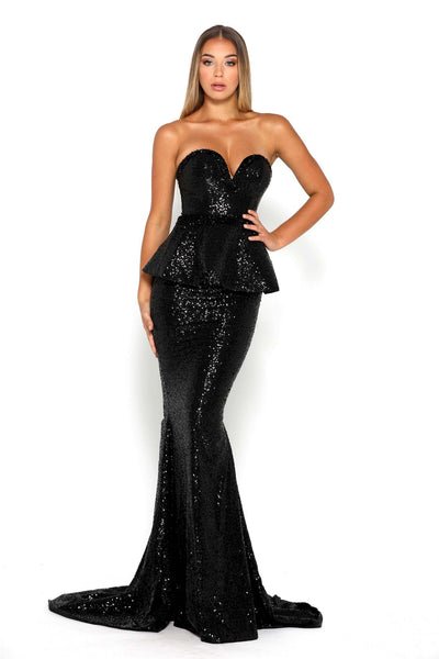 DIAMOND GOWN 11 BLACK