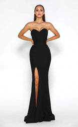 ARYA GOWN BLACK