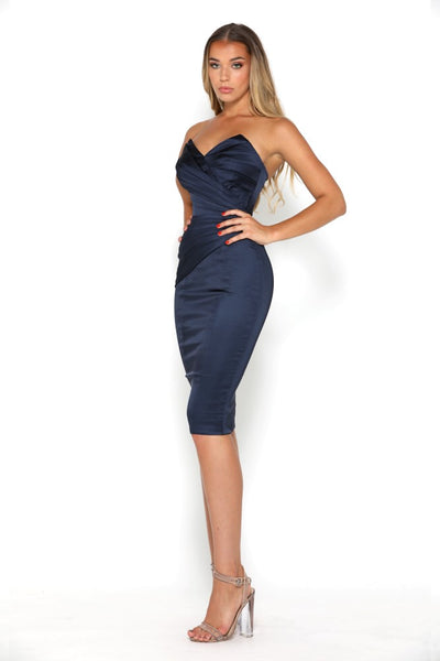 STELLA KNEE LENGTH NAVY
